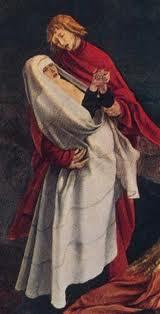 grunewald, vierge, crucifixion