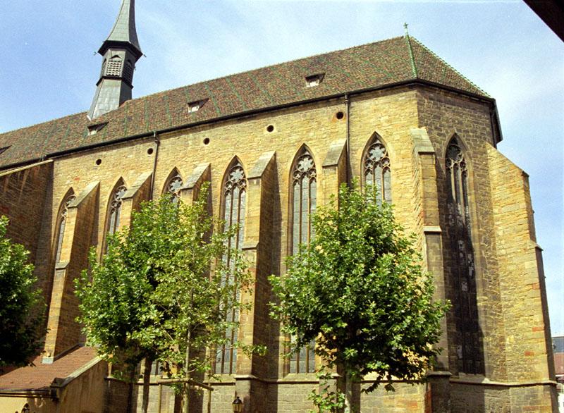 église des dominicains à Colmar